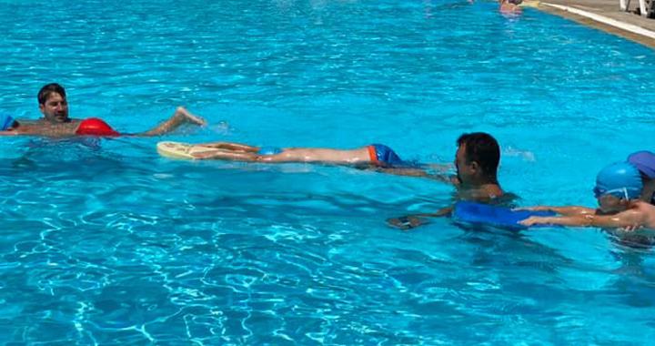 Ege Yüzme Akademi'de son turun ilk haftası tamamlandı