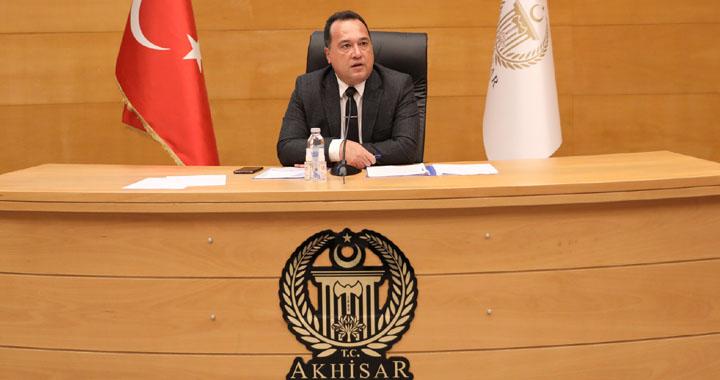 Akhisar Belediyesi Ağustos ayı olağan meclis toplantısı yapıldı