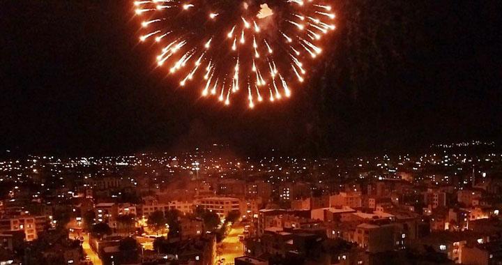 Akhisar'da havai fişek kullanımı yasaklandı