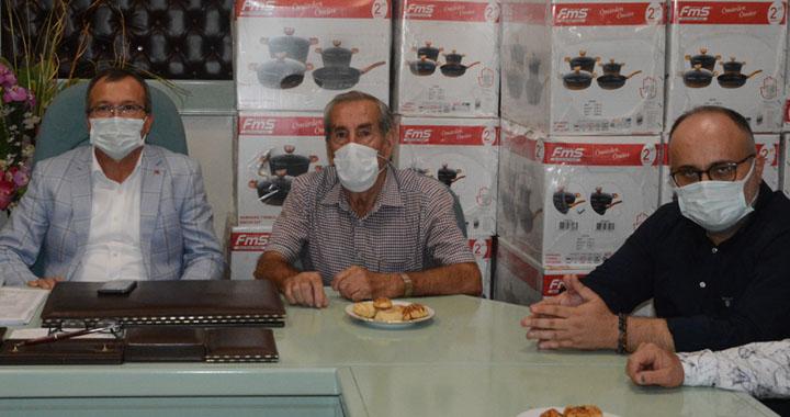Aydemir'den Esnaf Kefalet Kooperatifine ziyaret