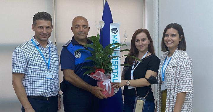 Mavi Hospital, Zabıta Haftasını kutladı