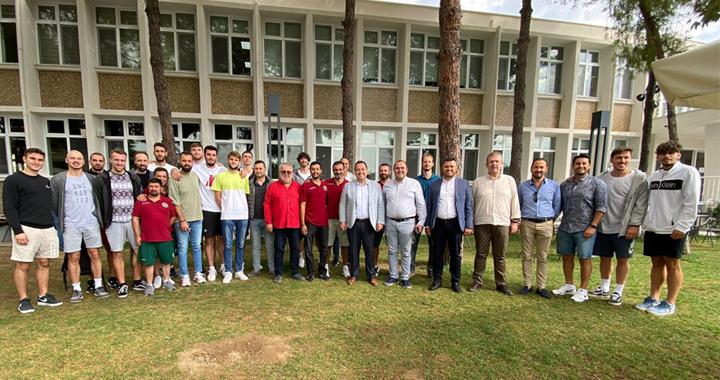 Başkan Besim Dutlulu, Akhisarlı devleri ağırladı