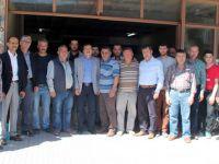 Milletvekili Aydemir Marangozları Ziyaret etti
