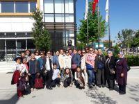 Çiçek Kursu Öğrencileri ve Akhisarlı Bayanlar Manisa'yı Gezdi