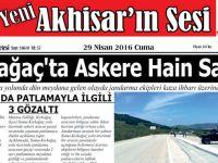 Yeni Akhisar'ın Sesi Gazetesi 29 Nisan 2016