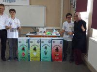 Gazi Ortaokulu Bursa Bilim Şenliği Finalinde Manisa'yı Temsil Edecek