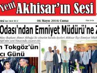 Yeni Akhisar'ın Sesi Gazetesi 6 Mayıs 2016