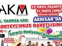 AKM'den 12. Yıla Özel Sürpriz Hediyeler