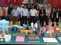 75. Yıl Ortaokulu Görsel Sanatlar Sergisi Açıldı