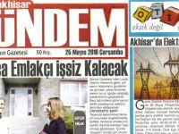 Akhisar Gündem Gazetesi 25 Mayıs 2016