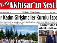 Yeni Akhisar'ın Sesi Gazetesi 27 Mayıs 2016