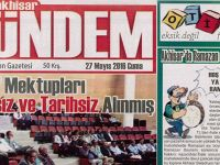 Akhisar Gündem Gazetesi 27 Mayıs 2016