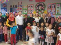 Hüseyin Alhat İlkokulu Anasınıfı Sergisi Büyüledi