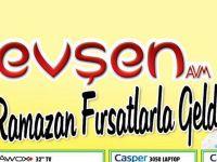 Evşen AVM'de Ramazan Ayı Fırsatlarla Geldi