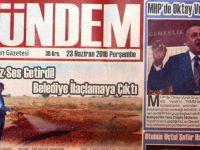 Akhisar Gündem Gazetesi 23 Haziran 2016