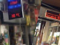 Akhisar'da Termometreler'de Bugün de 40 Dereceyi Gösterdi