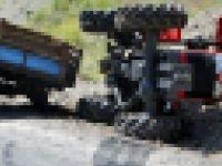 Akhisar'da Traktör Kazası, 1 Kişi Hayatını Kaybetti