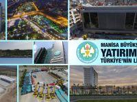 Manisa Büyükşehir Yatırımda Türkiye'nin Lideri