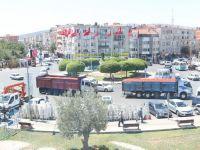 Akhisar Şehir İçine Giren Kamyonlara Ceza Kesildi