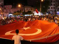 Milli Egemenlik Meydanında, Demokrasi Nöbeti 7. Gününde