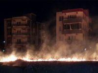 Ot Yangını Vatandaşları Korkuttu