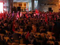 Akhisar'daki demokrasi nöbetinde 10.gün