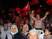 Akhisar'da Demokrasi Nöbeti 15.Gününde