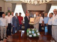 Ziraat Odası Başkanlarından Vali Güvençer'e ziyaret