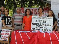 CHP Akhisar ilçe teşkilatından manifesto için imza kampanyası