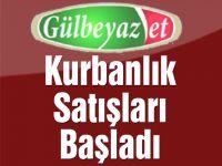 Gülbeyaz'da Kurbanlık Satışları Başladı