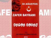 2016 yılı 30 Ağustos Zafer Bayramı programı açıklandı