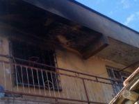 Ballıca Mahallesindeki yangın korkuttu