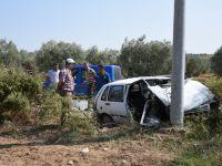 Akhisar'da kaza: 1 kişi hayatını kaybetti