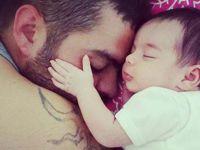 Akhisarlı baba ve 1 yaşındaki kızı kazada hayatını kaybetti