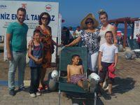 Özel Ege İlgi rehabilitasyon merkezi, engelsizler plajında