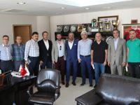 Mete Yarar'dan Başkan Salih Hızlı'ya ziyaret