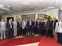 Manisa Ziraat odalarından Tarım Bakanına ziyaret