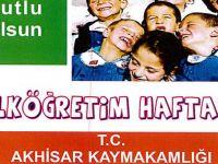 2016 yılı İlköğretim Haftası programı açıklandı