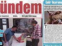 Akhisar Gündem Gazetesi 23 Eylül 2016
