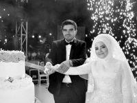Büşra ile Talha mutluluklarını perçinleştirdi