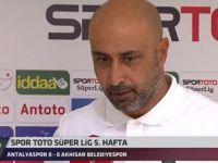 Maçın ardından Tolunay Kafkas'ın açıklamaları