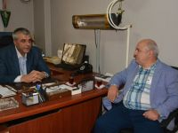 Briç Federasyonu Başkanı Nevzat Aydoğdu Akhisar'da