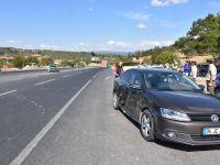 Akhisar'da trafik kazası: 1 yaralı