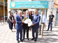 Büyükşehir ve MASKİ'den Akhisar'a ziyaret