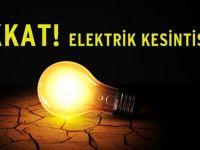 Dikkat Akhisar'da Cumartesi elektrik kesintisi var!
