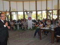 Türk Sağlık-Sen, Manisa temsilcileri, Akhisar'da buluştu