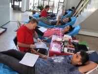 MCBÜ Akhisar yerleşkesinden 68 ünite kan bağışı