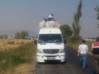 Jandarma Trafikten işçi taşıyan araçlara sıkı denetim
