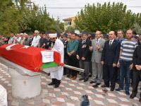 Akhisar'da Kore Gazisi toprağa verildi