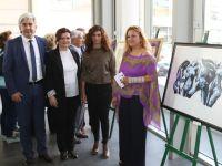 Ekim Geçidi 15 Sergisi Akhisar'da açıldı